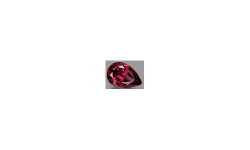 Rubellite Tourmaline Loose Faceted 3 cts 11x7x5mm 1955C