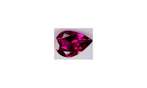 Rubellite Tourmaline Loose Faceted 2 cts 11x7x5mm 1612C