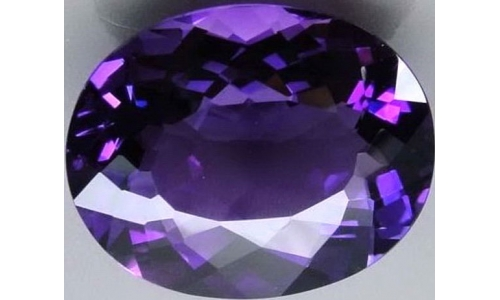 5.5 cts 15x10x8 MM African Amethyst  949D