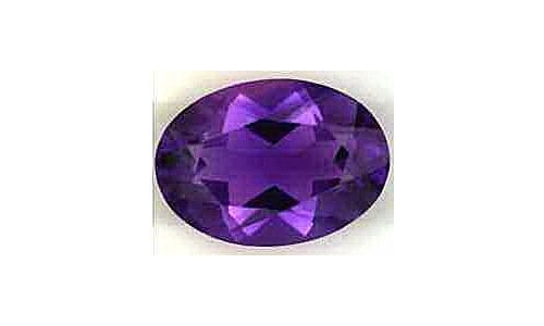5.6 cts 14x10x8 MM African Amethyst  18D