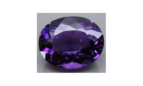 5.6 cts 14x10x8 MM African Amethyst  17D