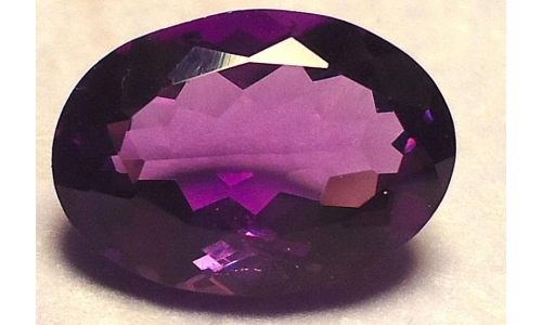 5.6 cts 14x10x8 MM African Amethyst  658D