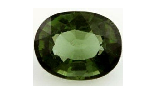 Green Tourmaline .80 cts 8x6x3 mm  1878C