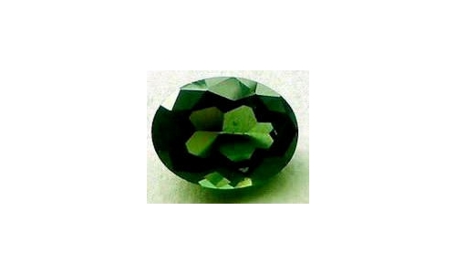 Green Tourmaline .80 cts 8x6x3 mm  1879C