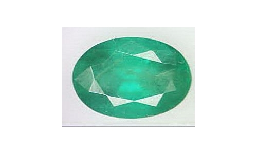 .80 cts 8x5x5 mm Loose faceted Colombian Emerald 405D