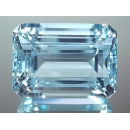 Aquamarine faceted 4.5 ..