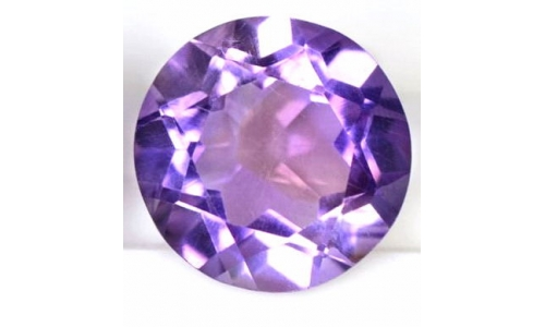 Lavender Amethyst  2 cts 8 MM 1067D