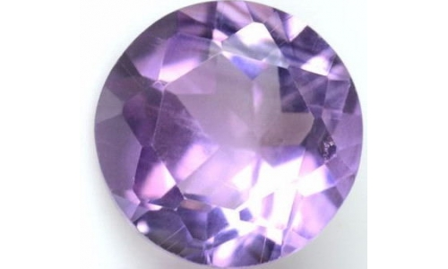 Lavender Amethyst  2 cts 8 MM 1068D
