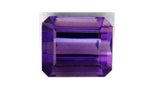 4.5 cts 12x10x7 MM African Amethyst loose faceted 1442D