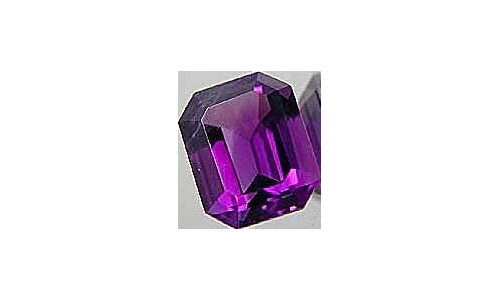 4.5 cts 12x10x7 MM African Amethyst loose faceted 1443D