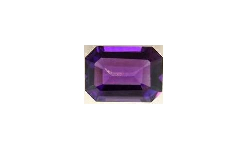 4.5 cts 12x10x7 MM African Amethyst loose faceted 1446D