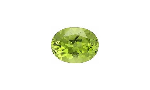 1 cts 8x6x4 MM Peridote loose faceted 1472D