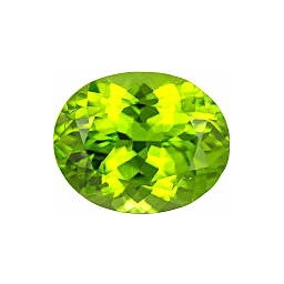 1 cts 8x6x4 MM Peridote loos..