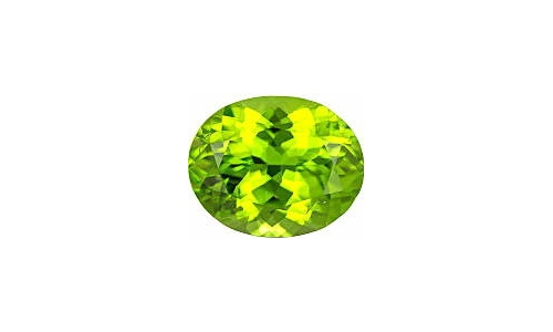 1 cts 8x6x4 MM Peridote loose faceted 1473D