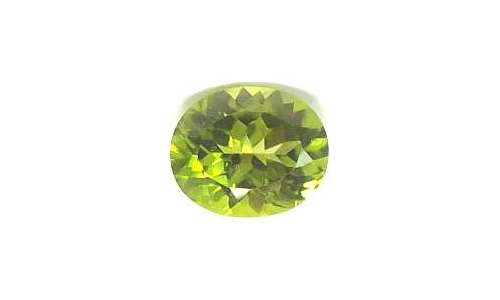 1 cts 8x6x4 MM Peridote loose faceted 1692D