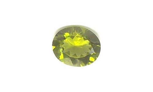 1 cts 8x6x4 MM Peridote loose faceted 1475D