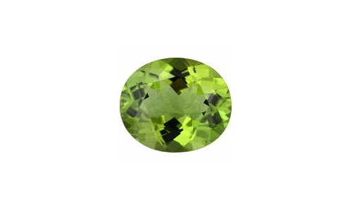 1 cts 8x6x4 MM Peridote loose faceted 1694D
