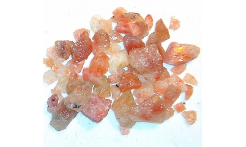 Raw Natural Rainbow Sunstone 200 cts 10 to 20 MM 1437D