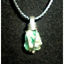 Emerald in sterling 20X..