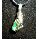 Emerald in sterling 30X..