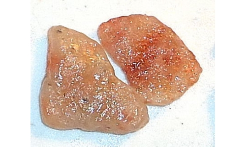 Raw Natural Rainbow Sunstone 100 cts 30 to 35 MM 252E
