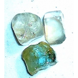 15 MM Blue Topaz Rough 70 ct..