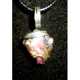 Ruby In Sterling Necklace 20..