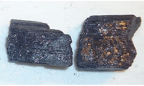 Black Tourmaline 140 cts 25 to 30 MM 1018E