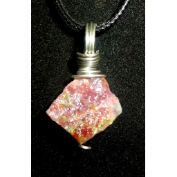 Ruby In Sterling Necklace 30..