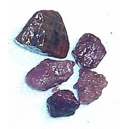 Ox Blood Ruby Rough 25 cts 8..