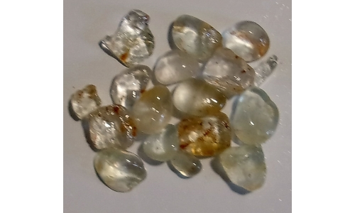 10 to 15 MM African Riverbed Topaz Rough 120 cts 1805E