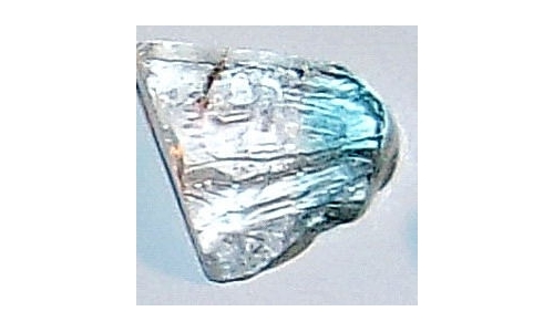 15x12x7 MM Blue African Topaz Facet Grade Rough 15 cts 1921E