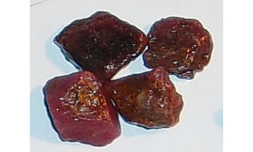 Ox Blood Ruby Rough North Carolina 20 cts 12 MM 066F