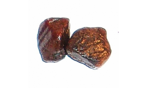 Ox Blood Ruby Rough North Carolina 20 cts 13 MM 282F