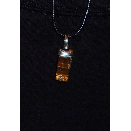 Tigers eye in Silver 35X10X5..