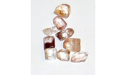 5 to 10 MM Brazilian Topaz Facet Grade Rough 20 cts 327F