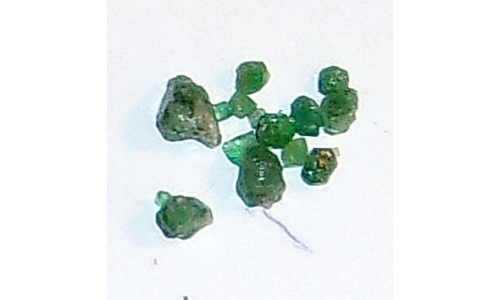 Colombian Emerald Rough Natural 4 cts  4 to 7 MM 403F