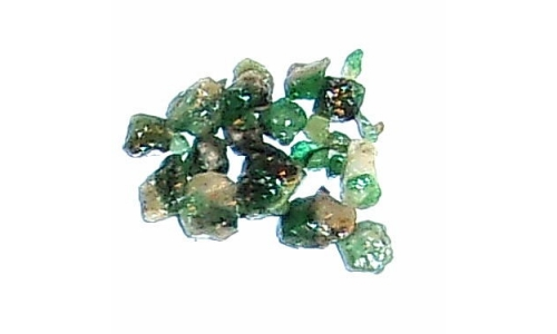Colombian Emerald Rough Natural 8 cts  3 to 6 MM 406F