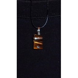 Tigers eye in Silver 30X20X5..