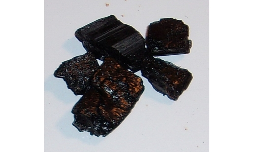 Black Tourmaline 100 cts Natural 15 to 25 MM 510F