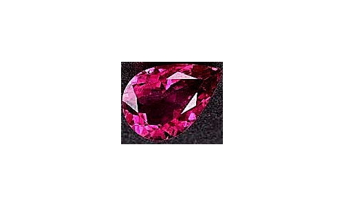 Rubellite Tourmaline Loose Faceted 1.5 cts 9x6x4 mm 499D