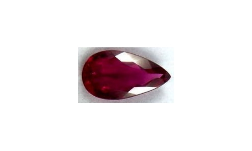 Rubellite Tourmaline Loose Faceted 1.5 cts 9x6x4 mm 500D