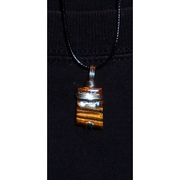Tigers eye in Silver 25X20X5..