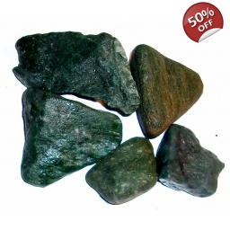 1/2 Pound Natural Jade 35 to..