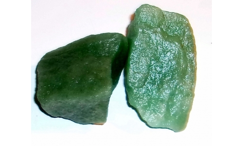 1/2 Pound Green Quartz Natural 50 to 60 MM 795F