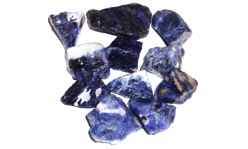1/2 Pound Sodalite Natural 25 to 55 MM 865F