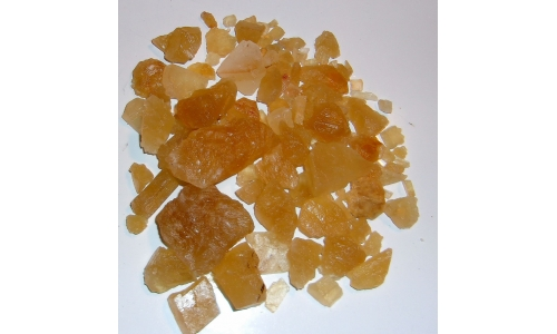 1/2 Pound Honey Calcite Natural 5 to 50 MM 870F
