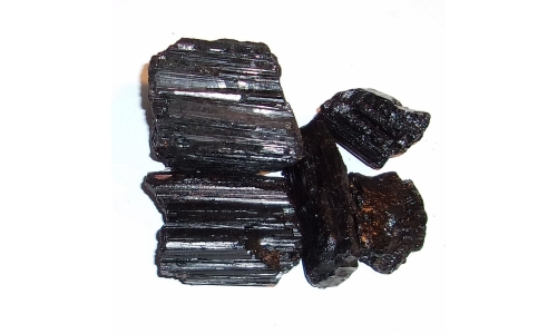 1/2 Pound Black Tourmaline 30 to 60 mm 970F