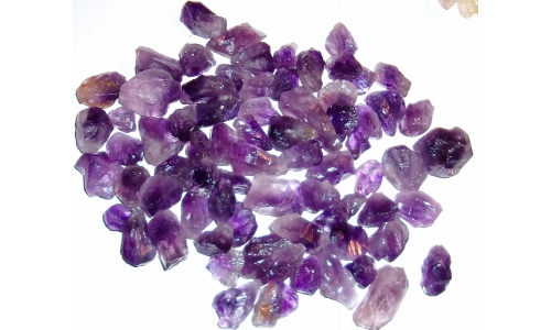 1/2 Pound Amethyst Natural 15 to 35 MM 986F