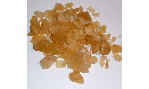 1/2 Pound Honey Calcite Natural 10 to 45 MM 987F